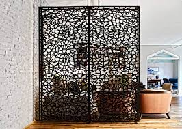 freestanding room divider room divider uk screen a intricate design of this partition adds