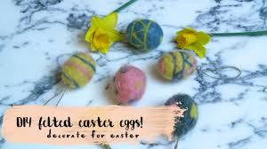 felted easter eggs diy felted easter eggs