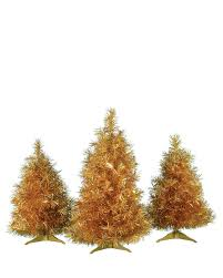 struck gold tabletop tree trio for sale treetopia