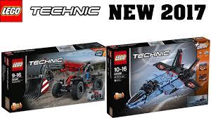 lego technic 2017 new lego technic winter 2017 sets official images telehandler