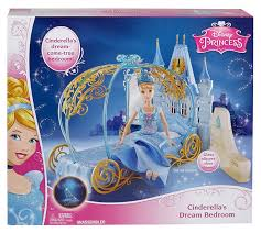 Barbie Princess Bedroom by Amazon Com Disney Princess Cinderella U0027s Dream Bedroom Playset