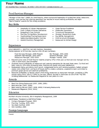 catering manager resume your catering manager resume must be impressive to make templates