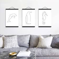 Nordic Home Decor Online Get Cheap Dolphin Abstract Aliexpress Com Alibaba Group