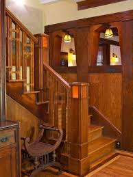Wood Stair Railings And Banisters Craftsman Railing Houzz