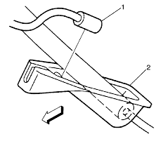 repair instructions parking brake rear cable replacement left