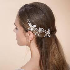 wedding hair pins tiaras bobby pins bridal hair accessories leaf wedding hair