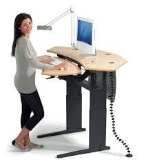 office furniture standing desk adjustable amazing bedroom
