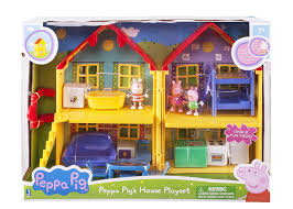 Fisher Price Peppa Pig House Peppa Pig S Deluxe House Toys