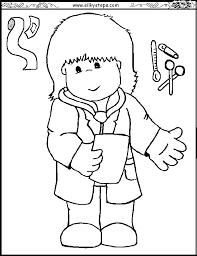 preschool dental coloring pages 358792