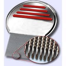 Sisir Kutu metal nit lice comb sisir kutu silver jakartanotebook