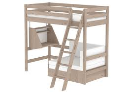 hochbett mit sofa drunter flexa hochbett classic mit sofabett kiefer massiv weiß möbel