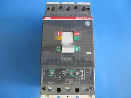 abb t4h 250 sace tmax circuit breaker 250a 3p w pr221ds trip unit