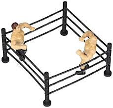 ring cake topper a birthday place wrestlers and ring cake kit