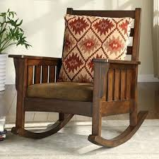 Rocking Chair Antique Styles Mission Style Glider Rocker With Ottoman Vintage Mission Style