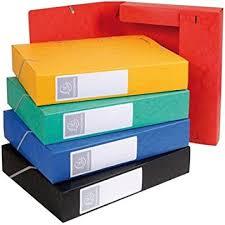 boite de classement bureau exacompta boite de classement cartobox dos 60mm assortie