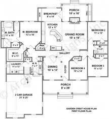 Garden Floor Plan by Garden Crest Rustic Floor Plans Ranch House Plans