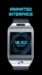 Futuristic Clock by Futuristic Watch Face For Samsung Gear 2 U2013 Gear Games