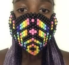 kandi mask bassnectar kandi mask edc edm raves kandi ebay