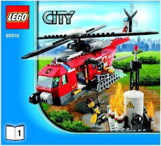 lego fire helicopter instructions 60010 city
