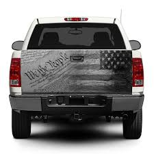 Confederate Flag Rear Window Decal Vinyl Truck Wrap Ebay