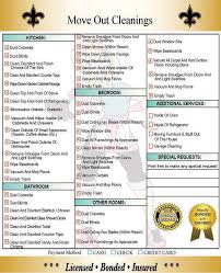 Commercial Kitchen Cleaning Checklist by Move Out Cleaning Oven Cleaning New Orleans
