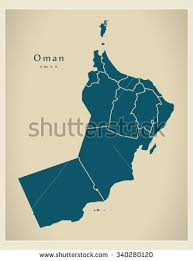 map of oman oman map stock images royalty free images vectors