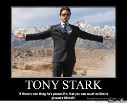 Tony Stark Meme - tony stark by judokid meme center