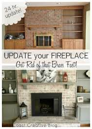 Paint Tile Fireplace by Brick Fireplace Update By Leslie Stocker Tutorials Originals