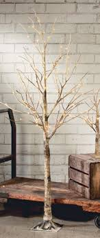 lighted birch tree display trees lighted birch grove lighted display trees