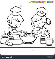 cooking chef coloring page inside coloring page eson me