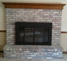 should we tile stone over our brick fireplace pic weddingbee