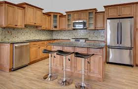 colored kitchen cabinets for sale a cinnamon color on maple with a brown glaze a