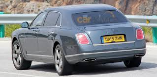 bentley rear 2016 bentley mulsanne facelift and lwb spy photos photos 1 of 3