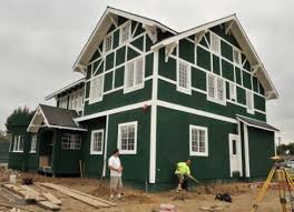 green paint houses city of santa ana paints historic home