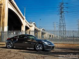 red nissan 350z modified 2003 nissan 350z joe mangione modified magazine