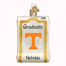 Of Tennessee Ornaments Tennessee Volunteer Ornaments Personalized