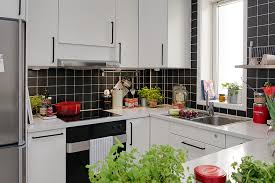ideas for small apartment kitchens modern kitchen for small apartment inspiration decor white rectangle