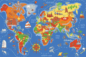 Learning Rugs Where In The World Play Rug Rectangle 36
