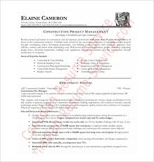 resume exle format pdf free pdf resume templates construction template 9 word excel