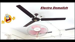 ceiling fan falling on table fan most satisfying ever o o