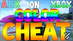 ark survival evolved how to change dino colour on xbox admin
