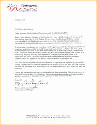 Sample Recommendation Letter Template by 10 Employment Recommendation Letter Assembly Resume