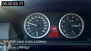bmw 530i e60 acceleration youtube