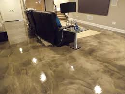 unthinkable how to epoxy basement floor to paint an concrete