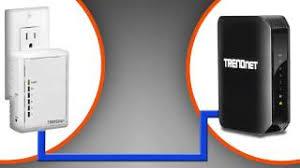 tpl 4052e trendnet products tpl 4052e 4 port powerline 500 av adapter