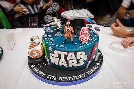 wars birthday cakes wars theme birthday party of aaron isaac at tanah merah
