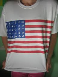 Flag T Shirt Corporate America Flag T Shirt U2013 Blasted Rat