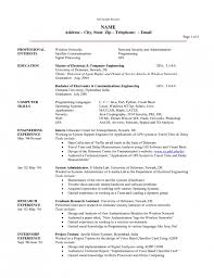Resume Engineering Template Engineering Resume Template Resume Templates Project Manager