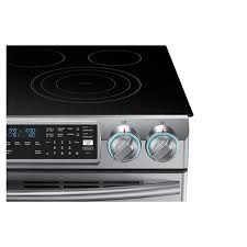 Samsung Cooktops Electric Ne58k9850wssamsung Appliances 5 8 Cu Ft Slide In Electric Flex