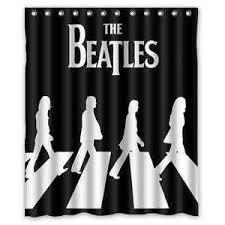 Shower Curtain Custom Special Design Bath Curtain Custom The Beatles Shower Curtain